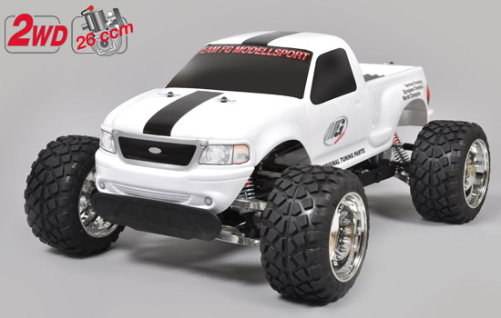 voiture FG Stad. Truck Tuning white body