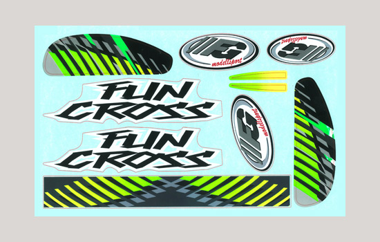 t2m Stickers Fun Cross