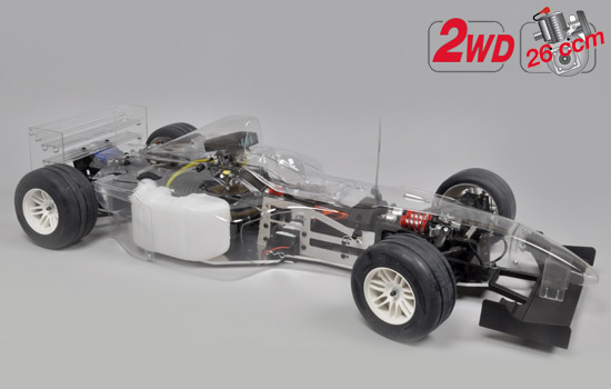 F-1/5 Sportsline 2WD clear body