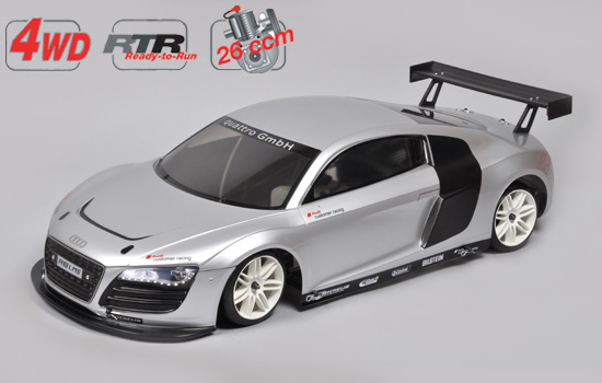 voiture FG 4WD 530 RTR chassis + Audi R8 body