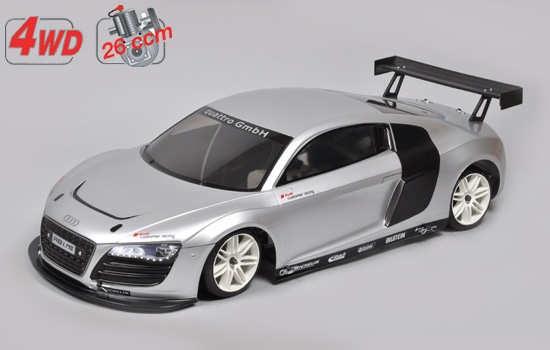 voiture FG 4WD 530 Chassis + Audi R8 Kar.