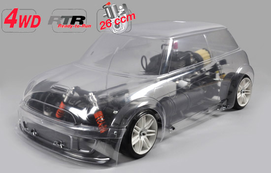 voiture FG RTR 4WD 510 chassis + Trophy body clear