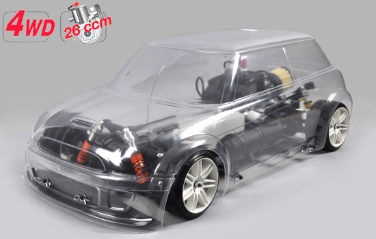 FG Modellsport 4WD 510 chassis + FG Trophy body clear