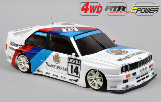 voiture FG 4WD 510E RTR Chassis + BMW E30 Kar.