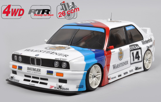 Fg Modellsport Rtr 4wd 510 Chassis Bmw E30 Body
