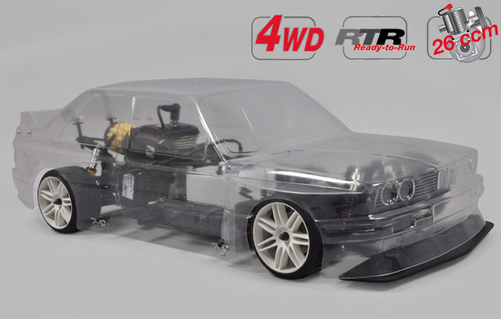 voiture FG 4WD 510 RTR Chassis + BMW M3 E30 Kar.
