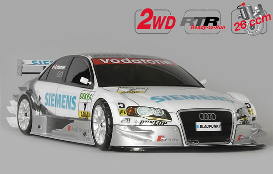 voiture FG New Chassis 530 2WD RTR + Kar. Audi