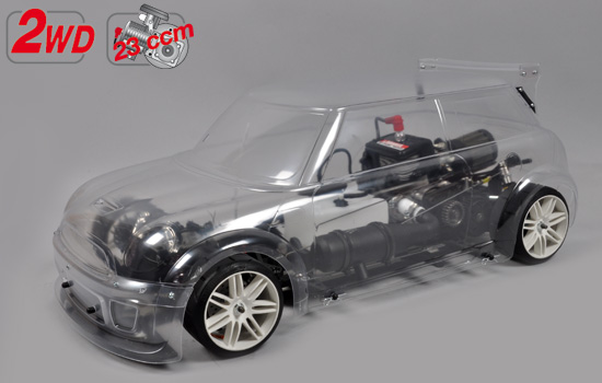 voiture FG 2WD 510 chassis + FG Trophy body clear