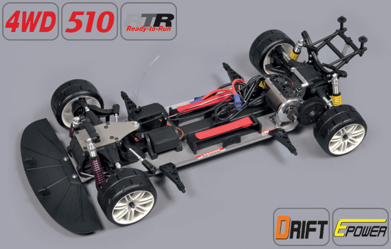 voiture FG Drift 4WD 510 Electro RTR