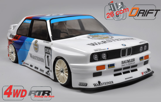 voiture FG 4WD 510 Drift chassis RTR + BMW E30 body