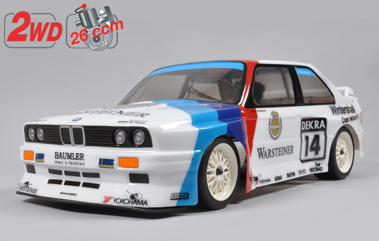 voiture FG 2WD Challenge chassis + E30 body