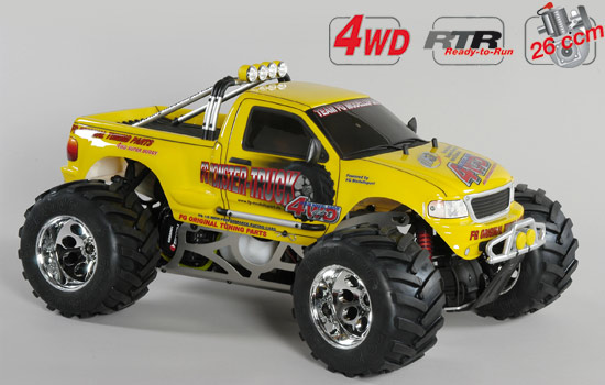voiture FG M. Truck WB535 4WD RTR yellow