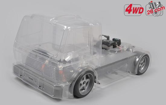 FG Modellsport Street Truck 530 4WD Clear