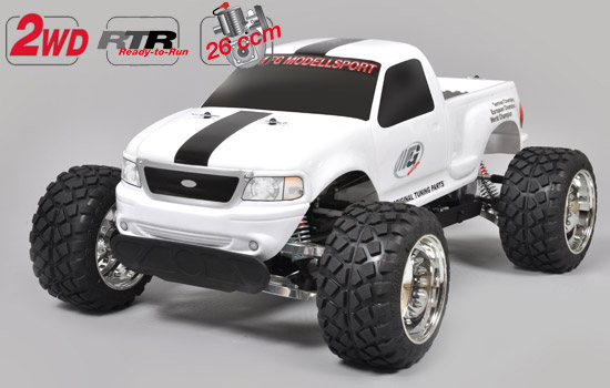 voiture FG Stad. Truck Tuning RTR white body