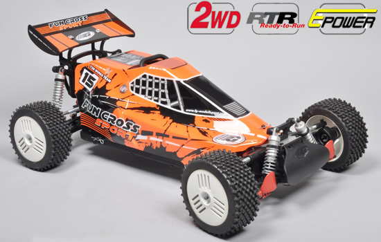 voiture FG Fun Cross Sport E RTR + LiPo batteries