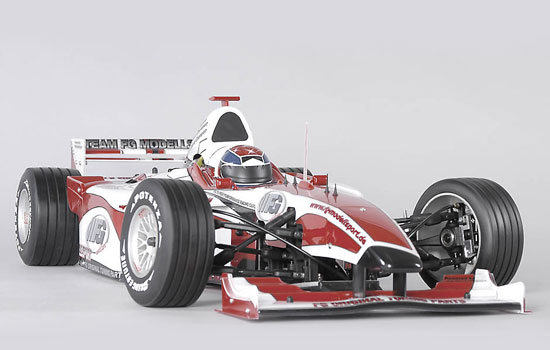 voiture FG F1 Sportsline 2WD clear body