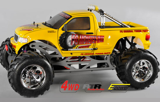 voiture FG Monster Truck WB535E RTR gelbe