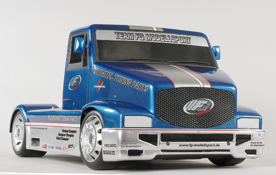 voiture FG Super Race Truck 530 2WD RTR clear