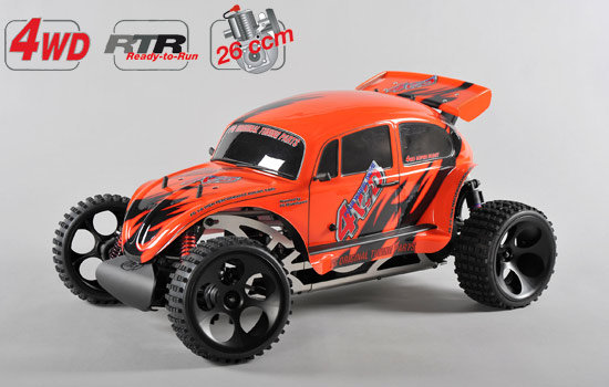 voiture FG Buggy WB535 4WD RTR colored body