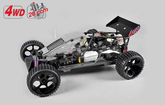 voiture FG Buggy WB535 4WD clear body