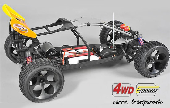 voiture FG Buggy WB535E 4WD clear body
