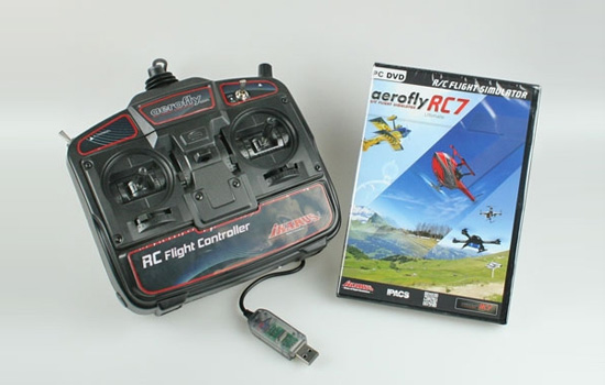 simulateur Ikarus Aerofly RC7 Ultimate + commander