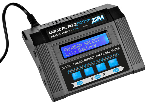 chargeur T2M Wizard X6S+ 100W