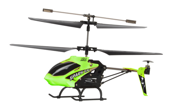helico T2M Spark SX grun