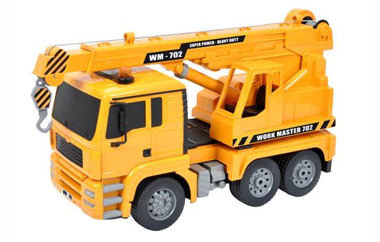 t2m modelisme engin de chantier t2m camion grue rc. Black Bedroom Furniture Sets. Home Design Ideas