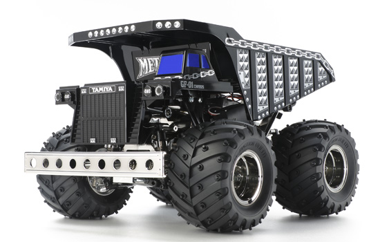 engin-de-chantier Tamiya Metal Truck Dump GF01