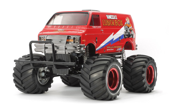 voiture Tamiya Lunch Box Red Edition CW01