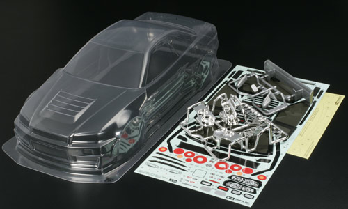 t2m modelisme carrosserie tamiya carrosserie nismo r34 gtr. Black Bedroom Furniture Sets. Home Design Ideas