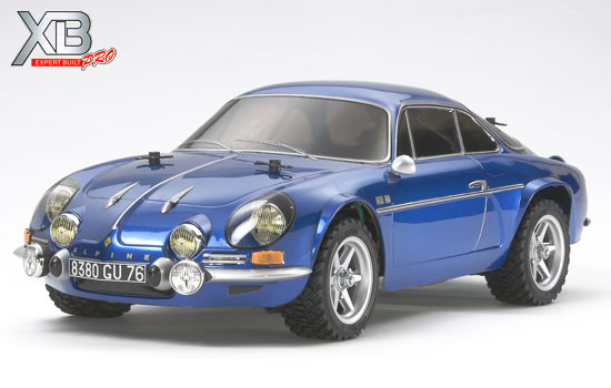 t2m modelisme voiture tamiya xb alpine a110 m05ra. Black Bedroom Furniture Sets. Home Design Ideas