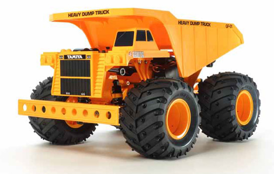 t2m modelisme engin de chantier tamiya heavy dump truck gf01. Black Bedroom Furniture Sets. Home Design Ideas