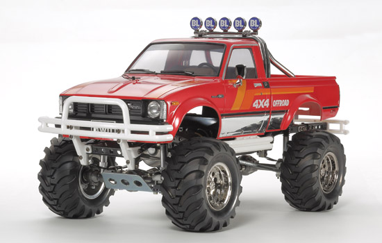t2m modelisme voiture tamiya toyota 4x4 pickup mountain rider. Black Bedroom Furniture Sets. Home Design Ideas