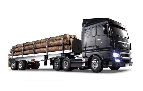modelisme camion electrique tamiya man tgx  x xlx