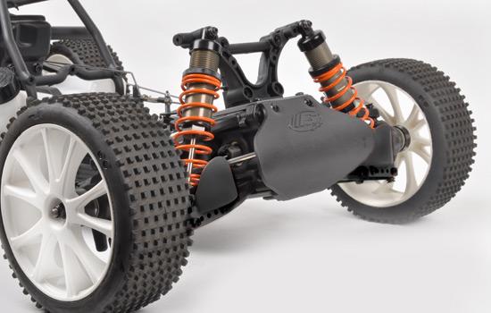 FG 1:5 4WD Fun Cross WB535 Leopard 67302 Dämpferfeder Vorn Orange FT9®