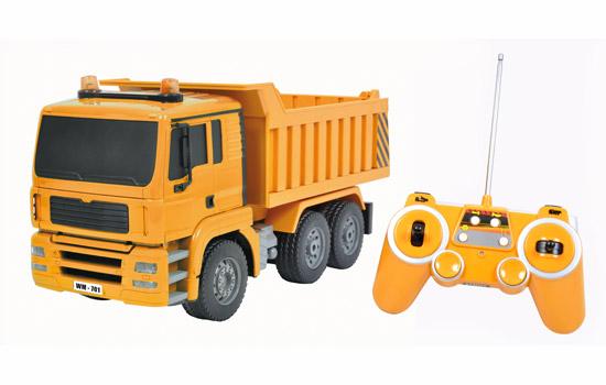 modelisme engin de chantier electrique tm camion benne rc  T